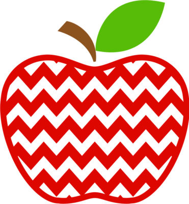 Chevron apple monogram 02