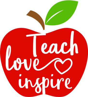 Teach Love Inspire Apple
