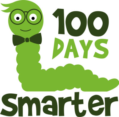 100 Days Smarter Svg Boy