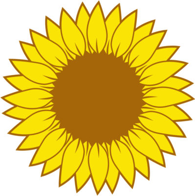 Sunflower monogram 02